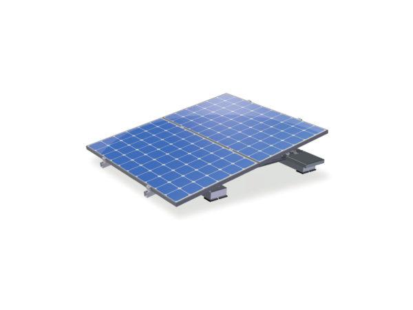 VALKDOUBLE - Solarrampe für 2 Module